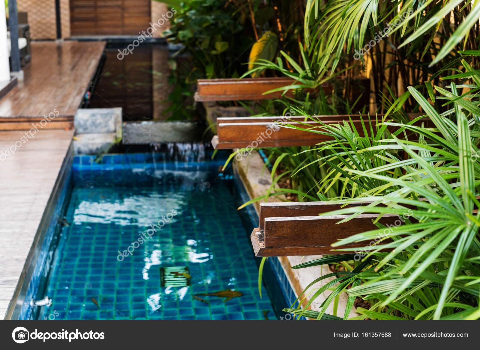 luxus garten haus interieur stockfoto blanscape 161357688. Black Bedroom Furniture Sets. Home Design Ideas