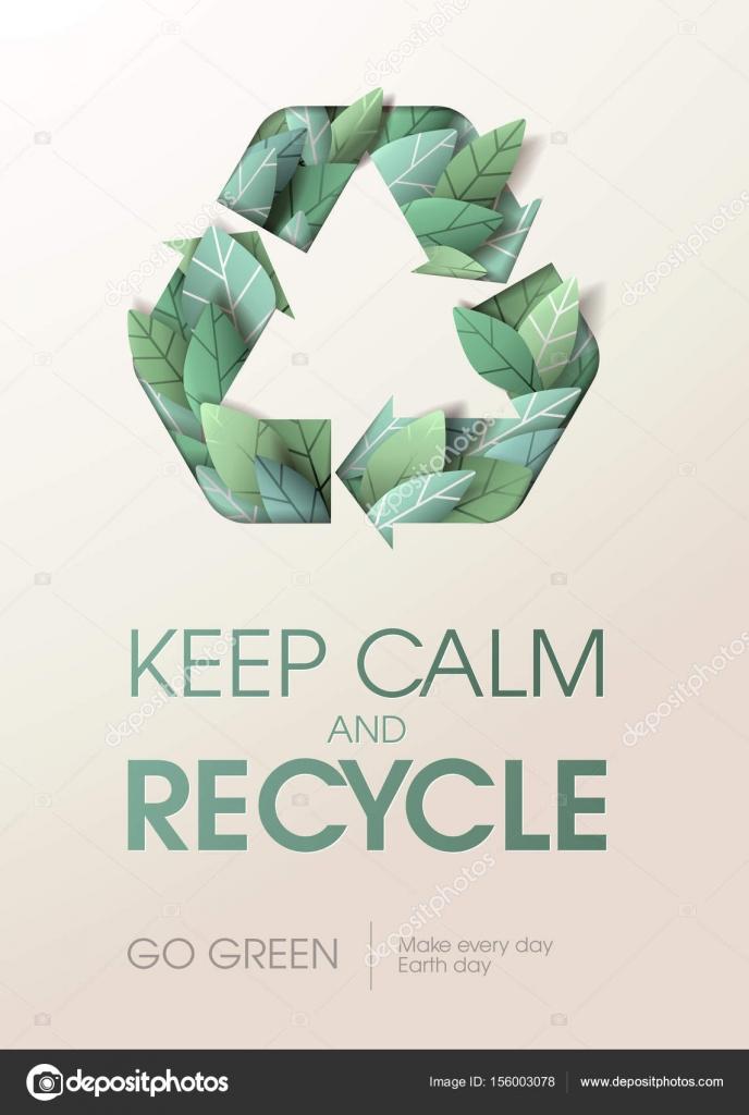 Conceito Criativo Sobre O Tema Da Reciclagem E Meio Ambiente