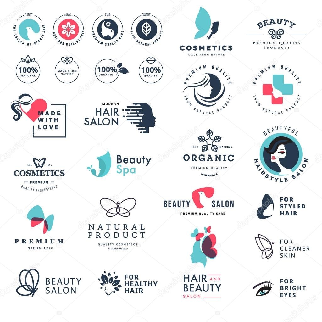 Premium quality beauty and nature icons