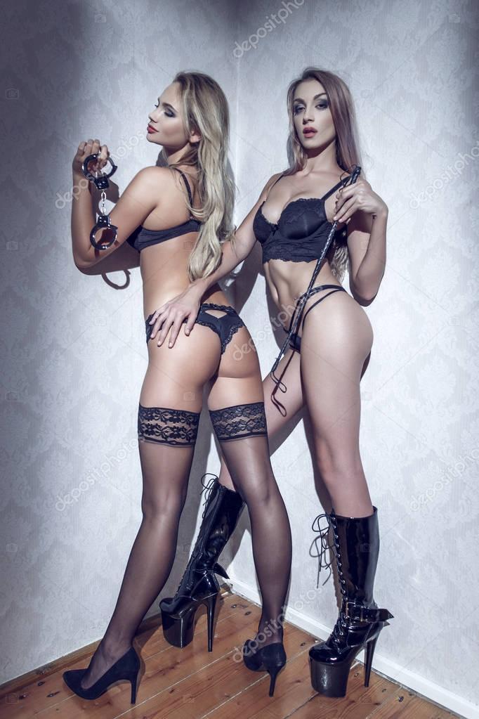 Ebenholz lesbische Muschi-Bild