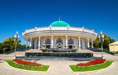 Amir Timur museum in Tashkent, the capital of Uzbekistan