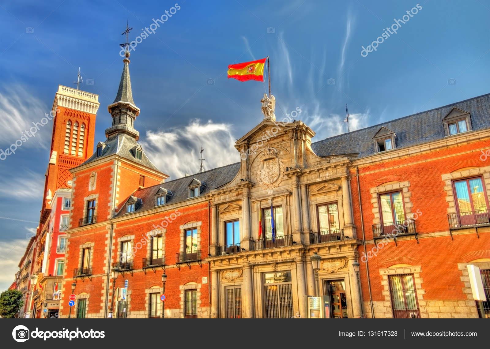 Palacio De Santa Cruz La Sede Del Ministerio De Asuntos Exteriores