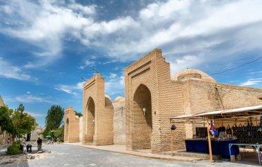 Tim Abdulla Khan, ancient silk market in Bukhara, Uzbekistan