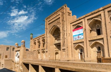 Amir Tura Madrassah at Itchan Kala. Khiva, Uzbekistan