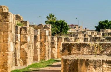 Amphitheatre of El Jem, a UNESCO world heritage site in Tunisia