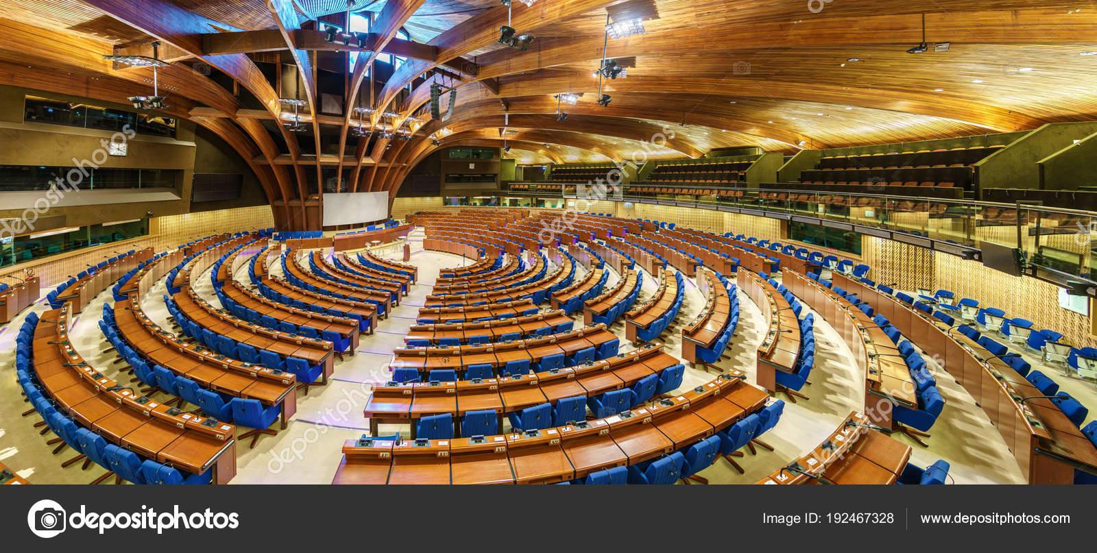 欧州理事会の議会アセンブリの五...
