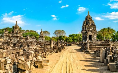 Sewu Temple at Prambanan in Central Java, Indonesia