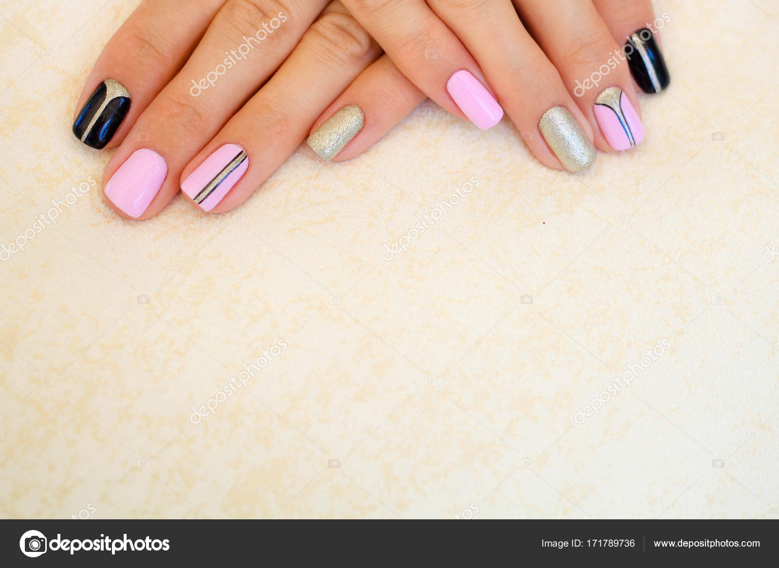 Natural nails, gel polish. Stylish Nails, Nailpolish. Nail art ...