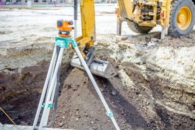 Civil engineer's instrument, theodolite, equipment for land surv