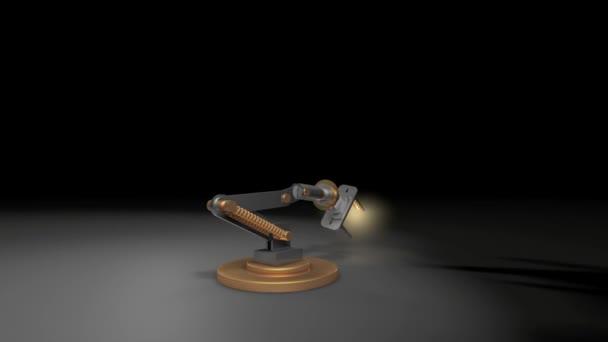 robot őrült lámpa robot kar