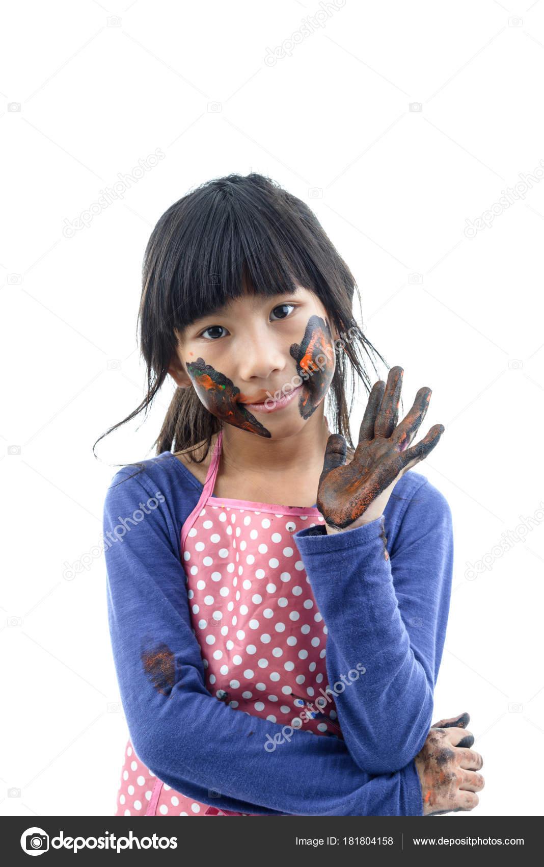 schmutzige asiatische Mädchen
