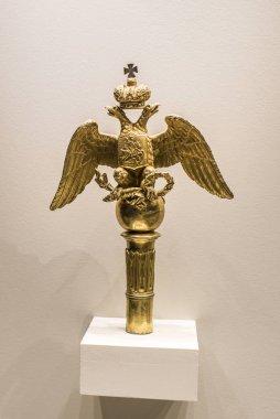 Russian coat of arms. Museum of the Patriotic War of 1812
