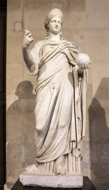 Statue of Juno, called Providence. Collections royales francaise
