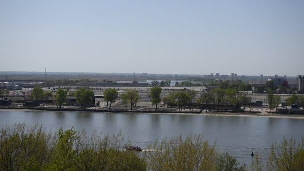Rostow-am-Don, Russland - kann 02,2018: Park am Ufer des Flusses Don gebaut für 2018 Fifa World Cup.Citizens Spaziergang und Rest