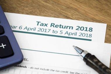 Tax return form UK 2018