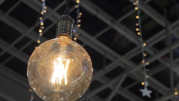 izzólámpa szál izzószál vintage ünnepi megvilágítás halvány fény