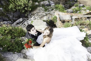 Grooms sea marriage