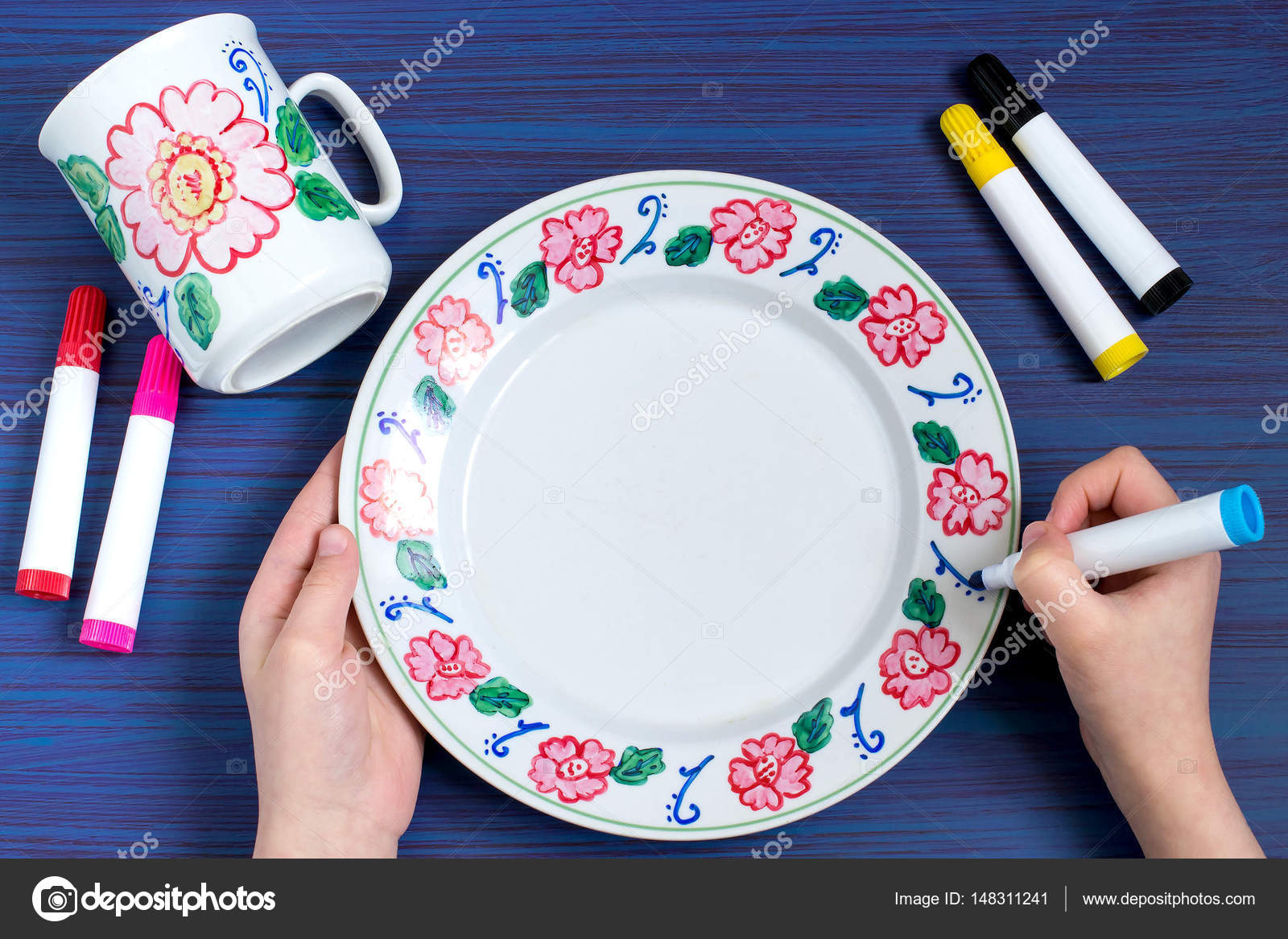 Afbeeldingsresultaat voor keramiek schilderen
