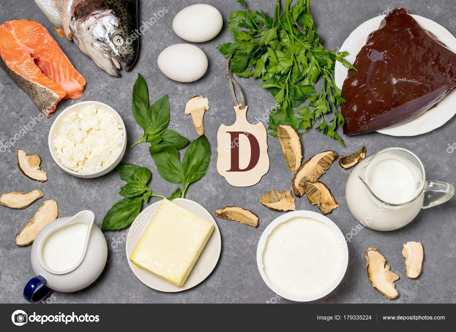 Eten Is Bron Van Vitamine D Stockfoto C 13 Smile 179335224
