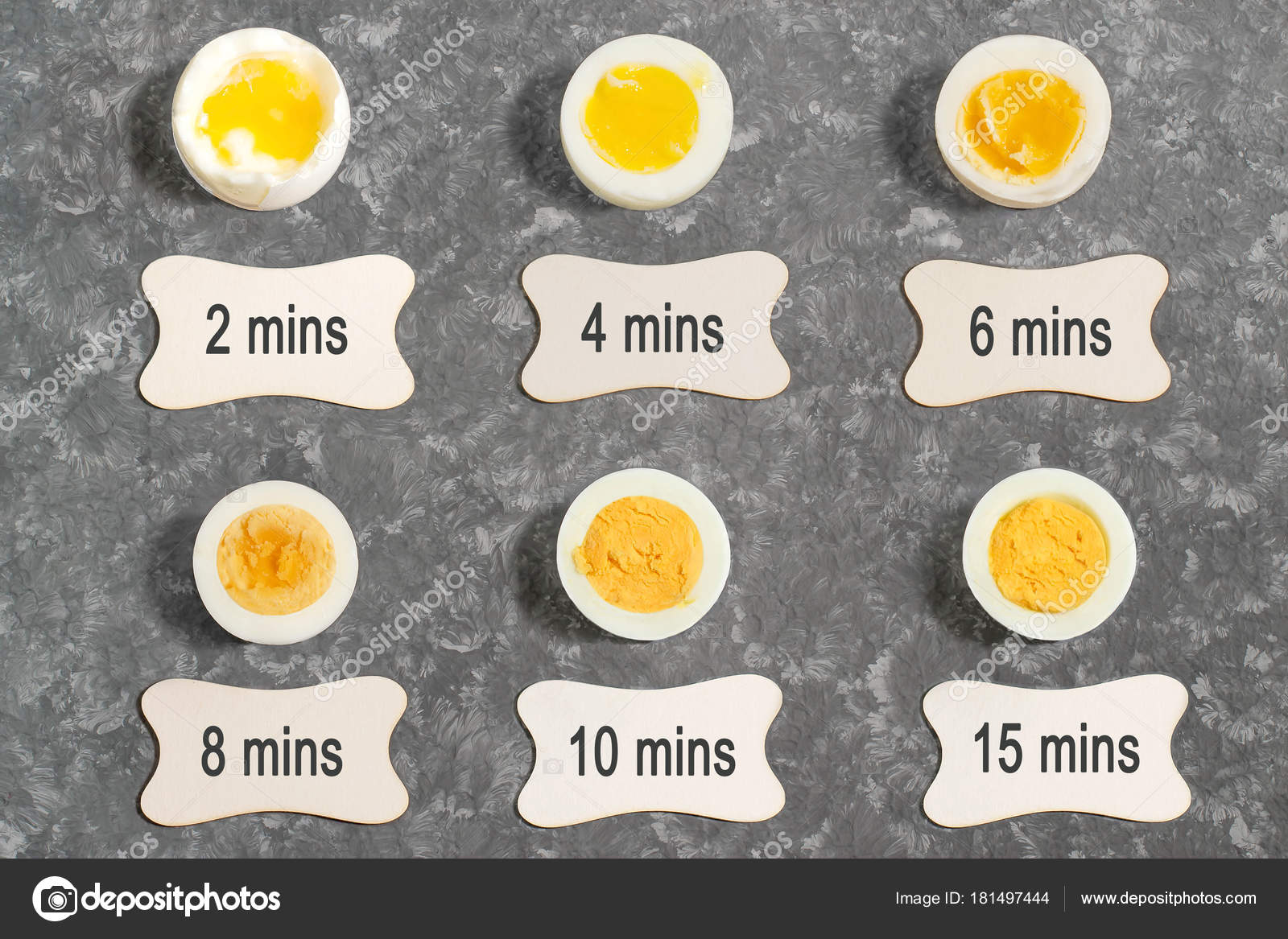 Tiempo de coccion de los huevos cocidos