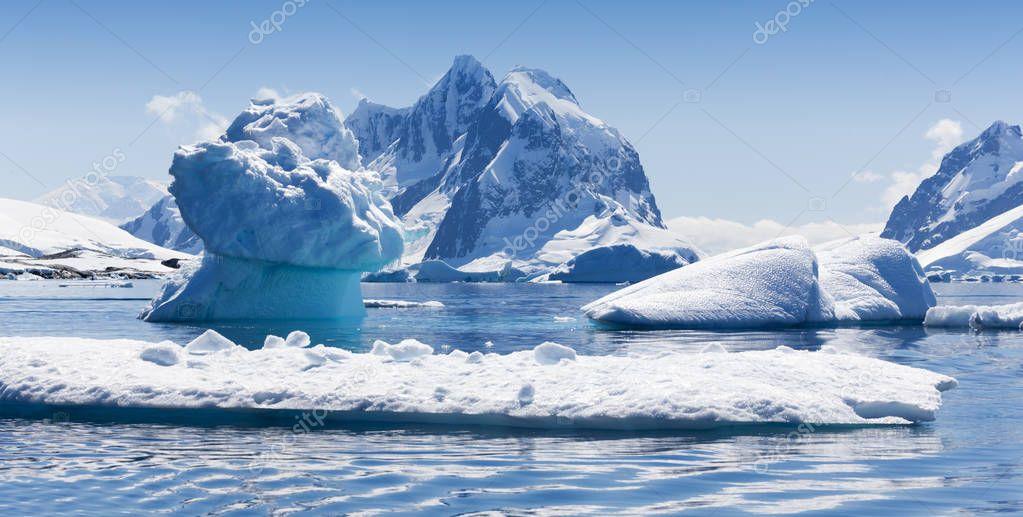 Coast of Antarctica