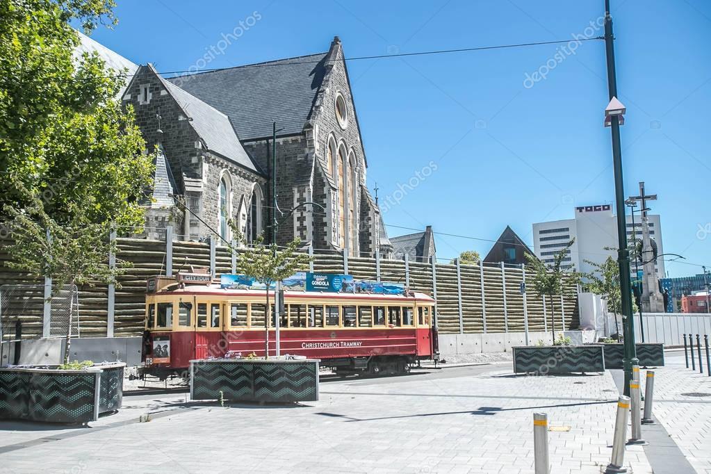 Neuseeland Christchurch: Christchurch Neuseeland Januar 2018 Historische