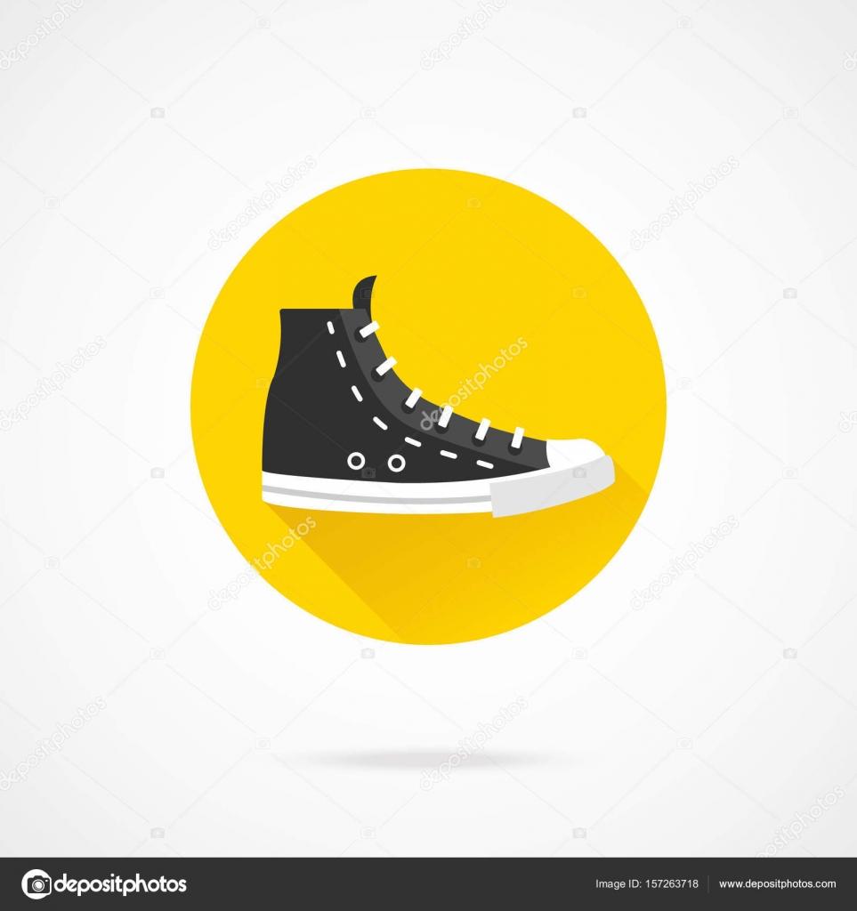 noire sneaker haut noir Icône élevé de de Chaussure de toile YR4nqawg