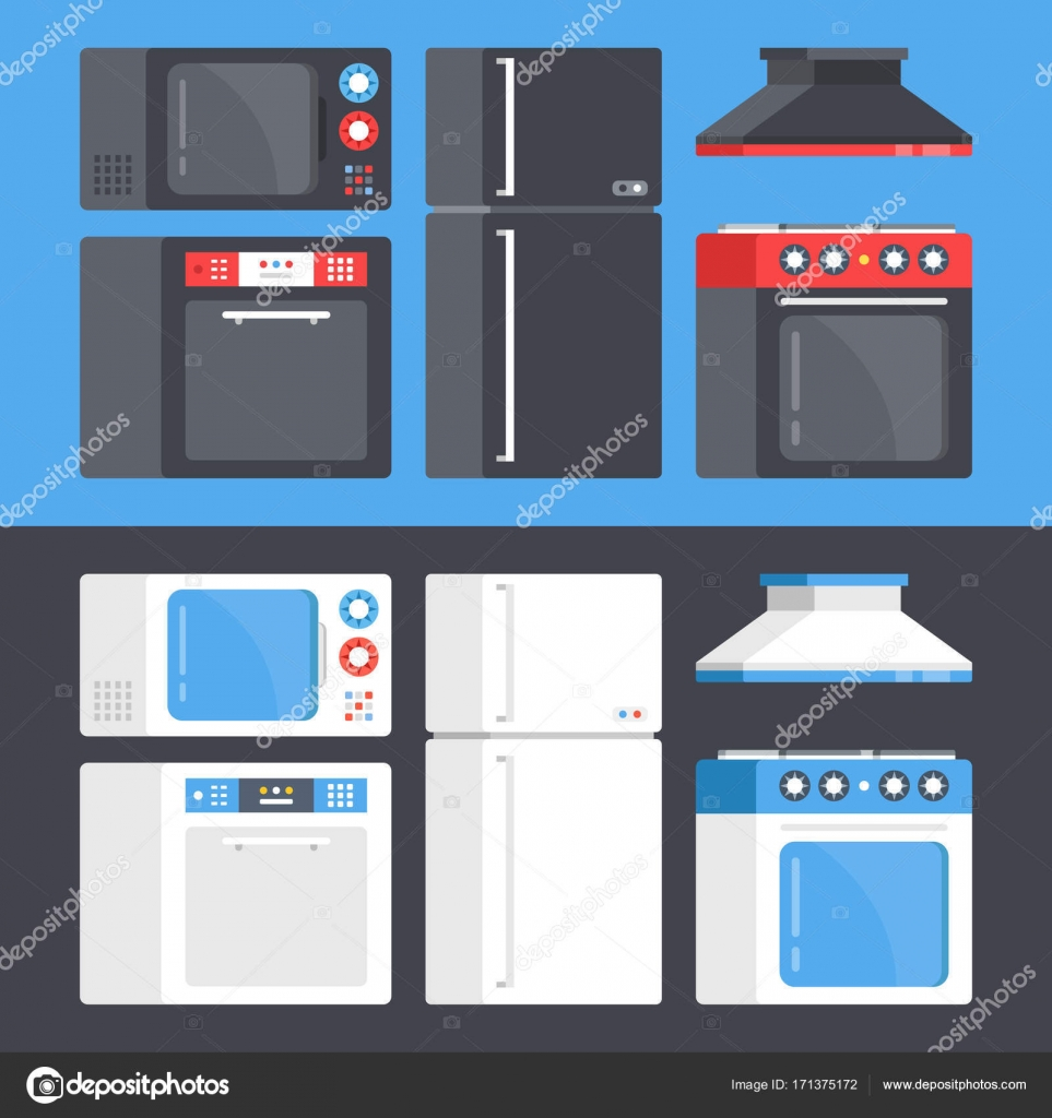 De Aparatos De Cocina Horno De Microondas Lavavajillas  ~ Microondas Con Campana Extractora