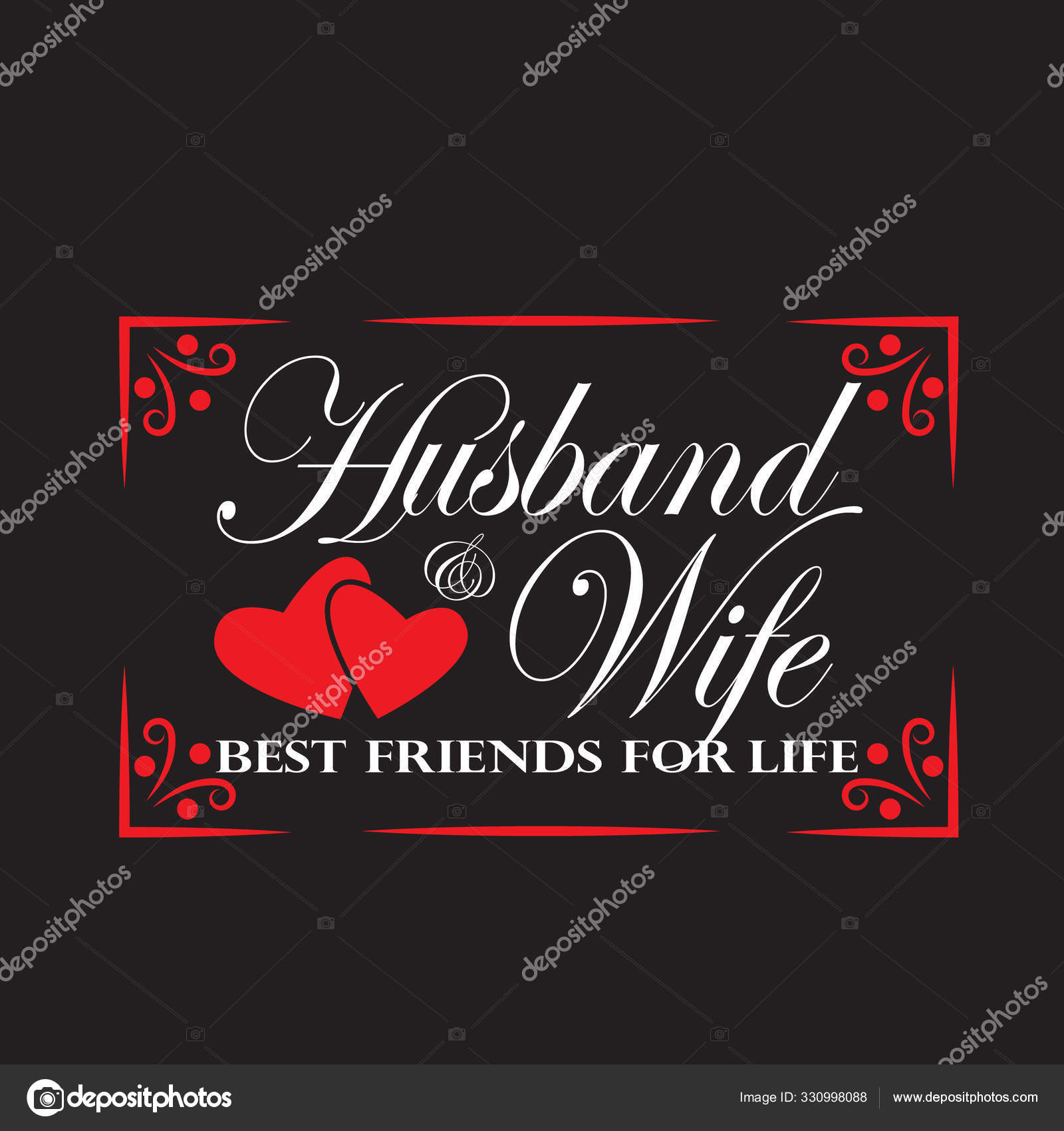 wedding quotes and slogan good for tee husband wife best friend
