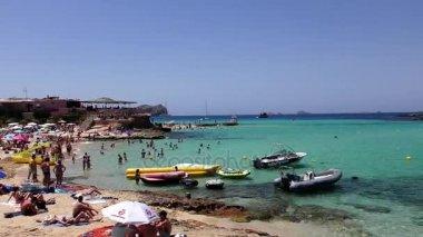 Cala Conta beach in Ibiza
