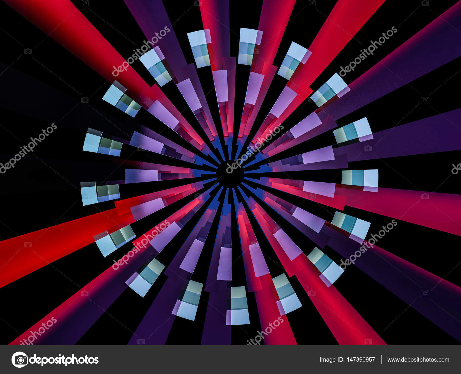 Abstract Background In The Form Of An Eyeball 3d Rendering Stock