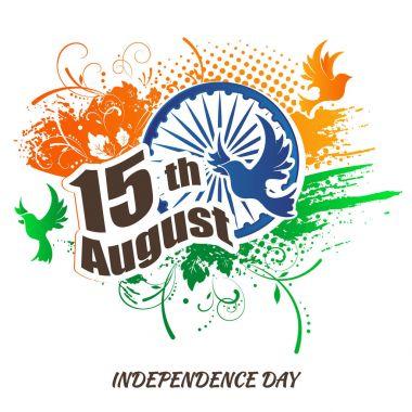 """Картина, постер, плакат, фотообои """"Индийской независимости день праздничный фон"""", артикул 156035184"""