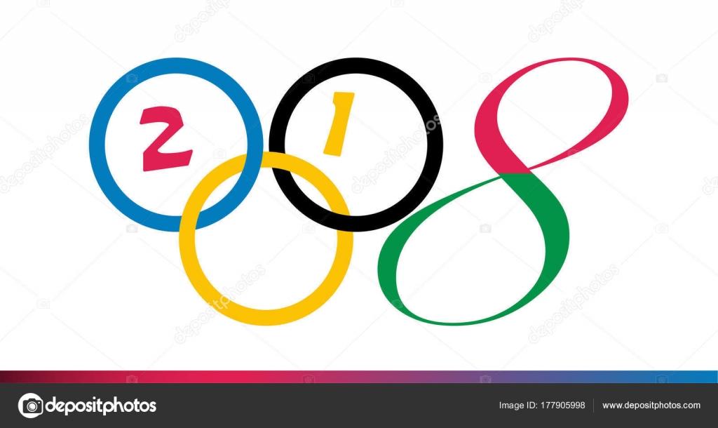 Imagenes Dibujo De Aros Olimpicos Los Juegos Olimpicos De 2018