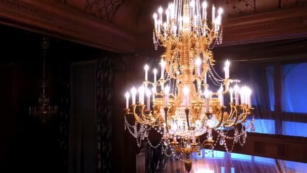Luxury Crystals Chandelier.