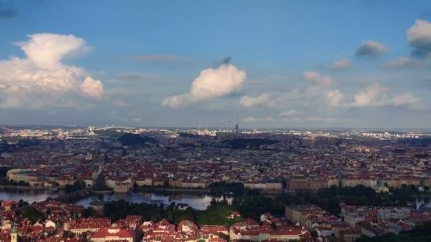 Panorama historické centrum Prahy