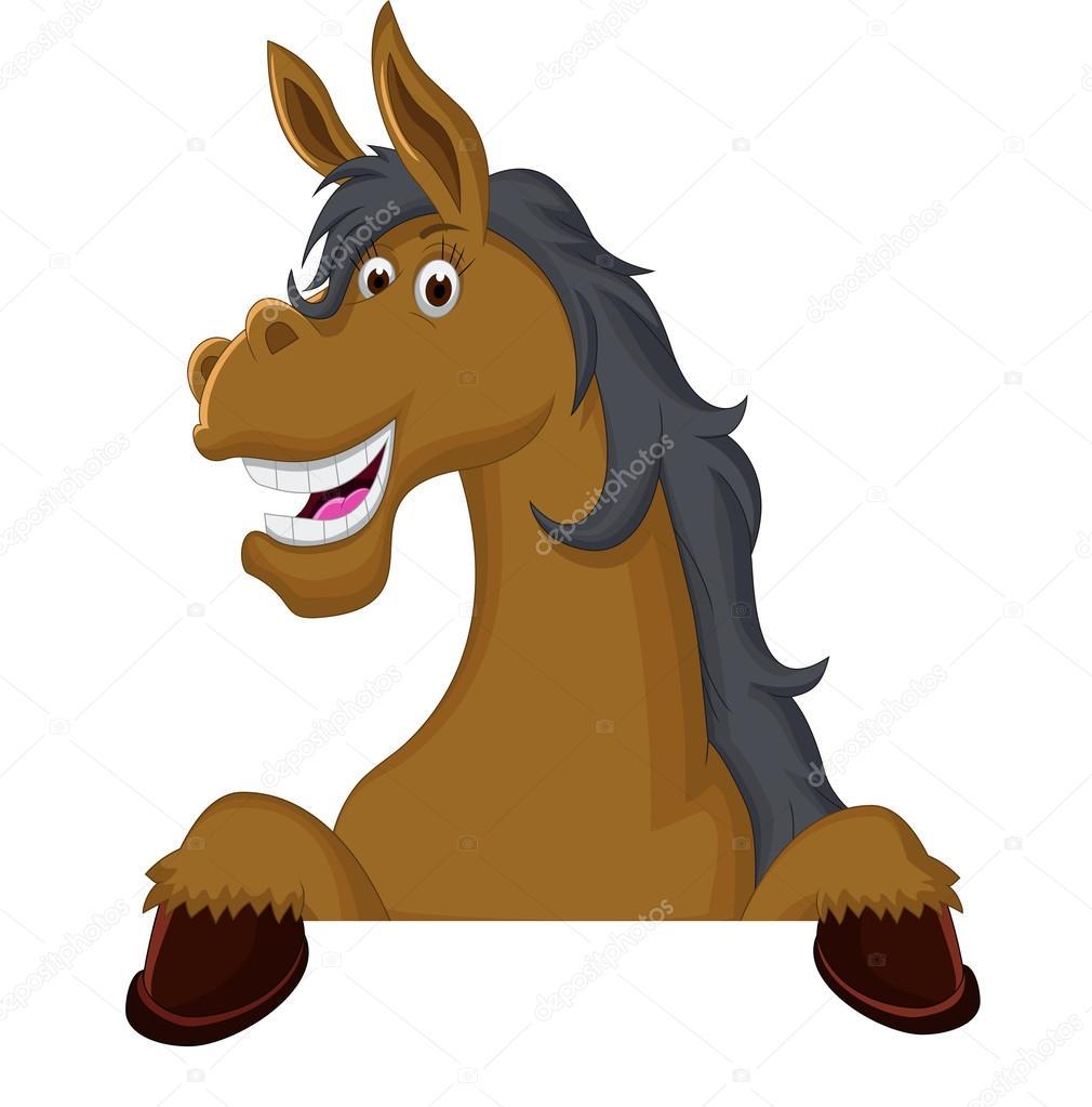 Dessin anim dr le de cheval avec signe vierge photographie starlight789 126333680 - Image de dessin anime ...