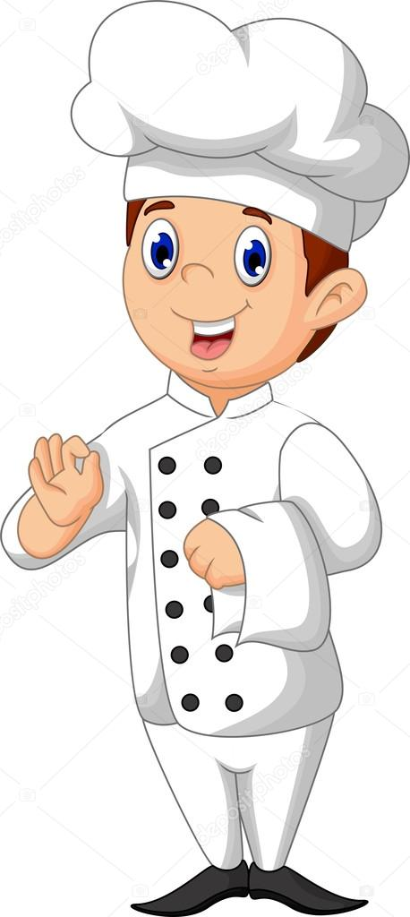 Caricatura lindo chef fotos de stock starlight789 for Chef en frances