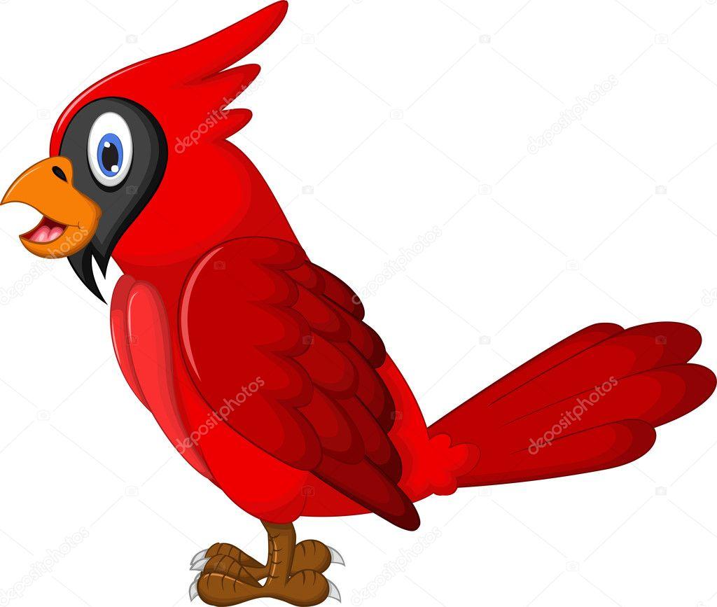 Cartone animato carino pappagallo — foto stock