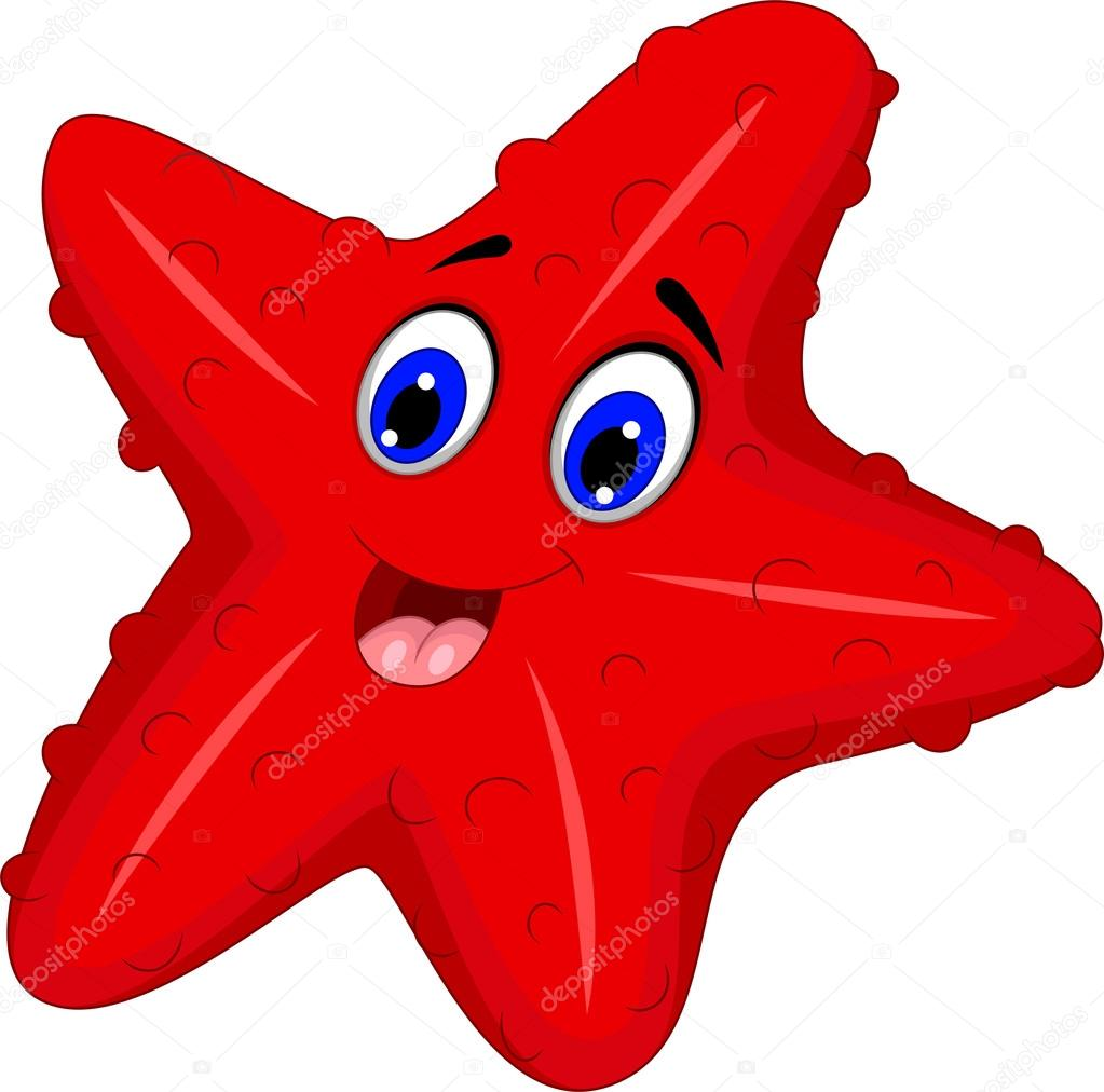 estrella de mar divertido cartoon posando fotos de stock redfish free clipart redfish free clipart