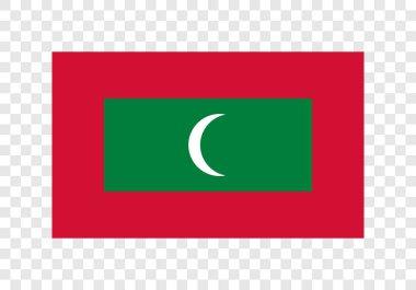 Republic of Maldives - The National Flag