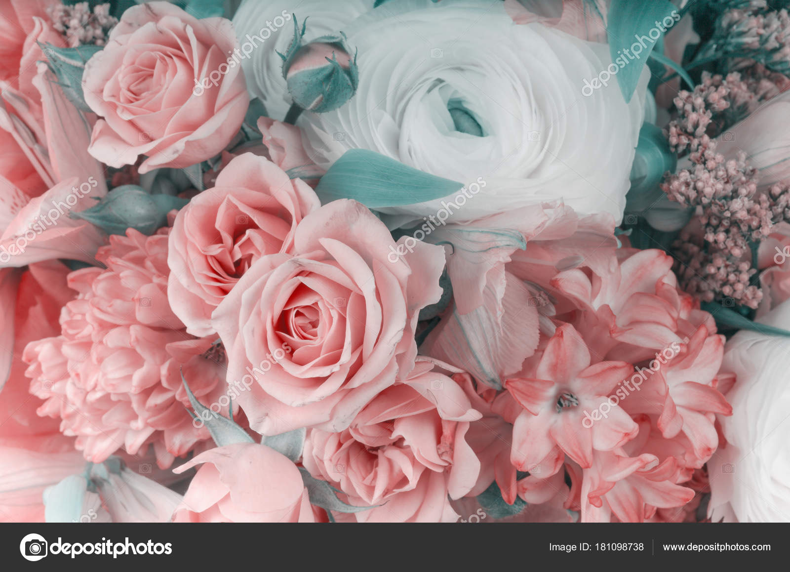 Amazing flower bouquet arrangement close up stock photo amazing flower bouquet arrangement close up in pastel colors photo by escander81 izmirmasajfo