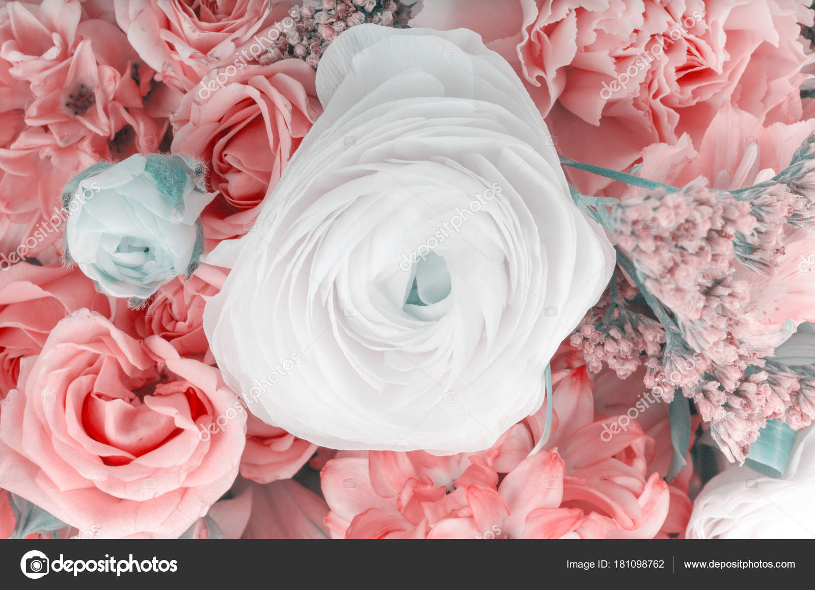 Amazing flower bouquet arrangement stock photo escander81 181098762 amazing flower bouquet arrangement close up in pastel colors photo by escander81 izmirmasajfo