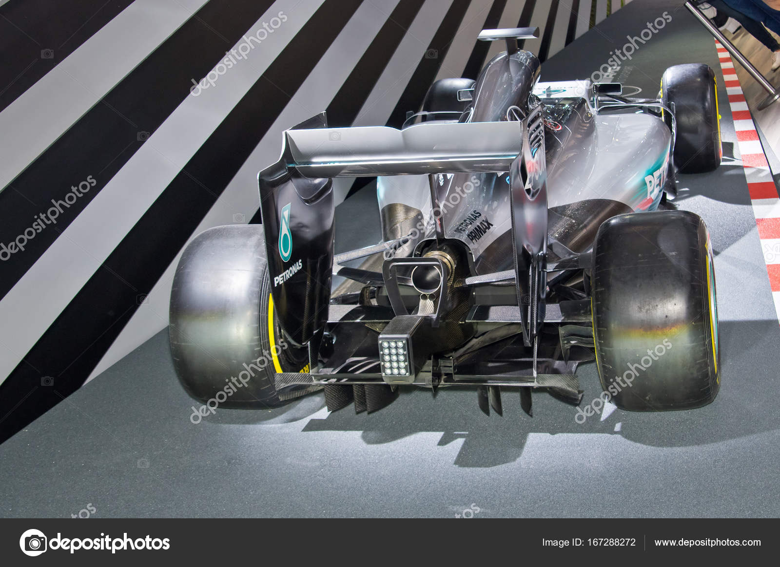 Mercedes amg f1 w08 eq power stock editorial photo for Mercedes benz eq release date
