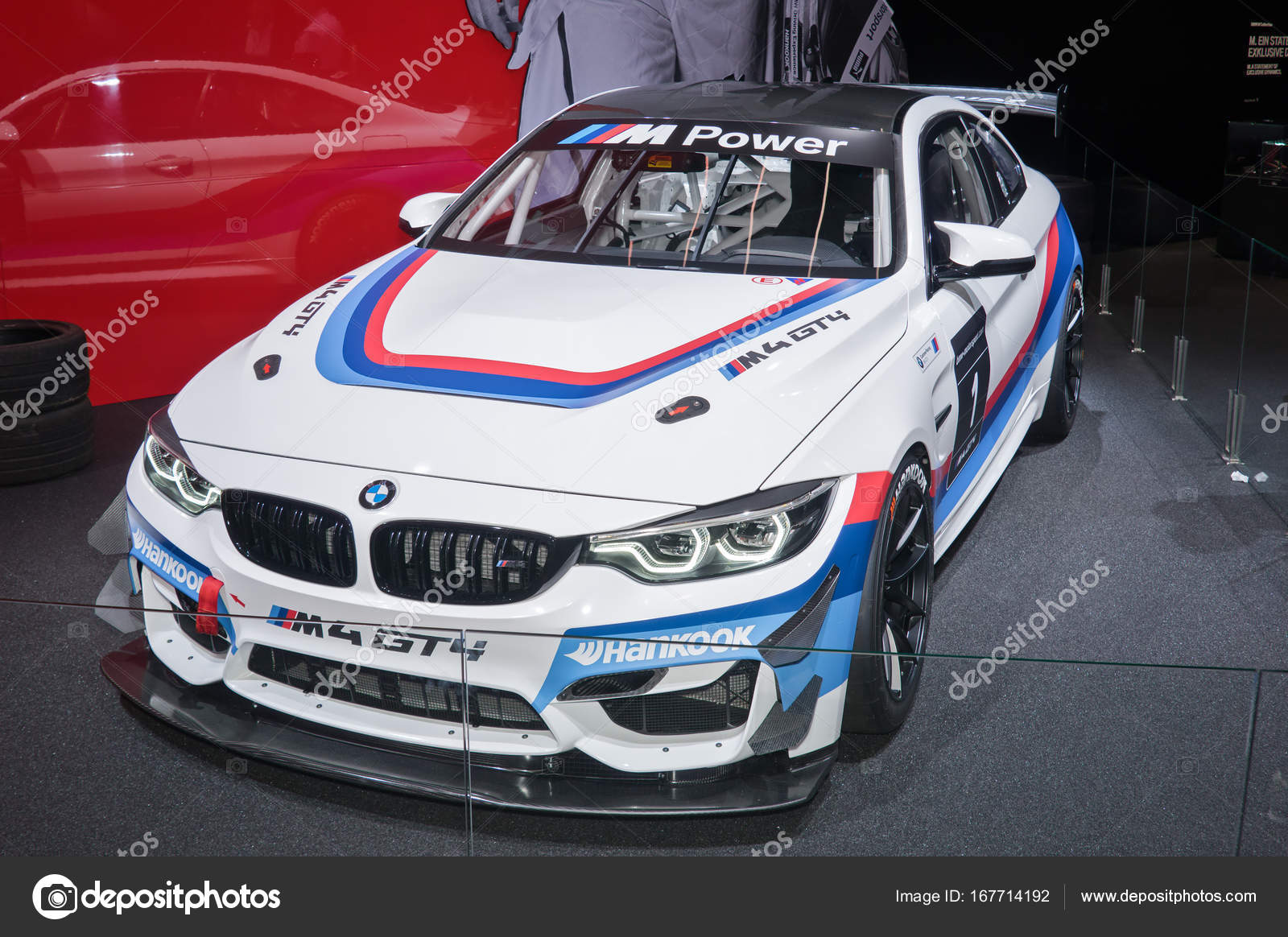 bmw m4 gt4 race car stock editorial photo eans 167714192. Black Bedroom Furniture Sets. Home Design Ideas