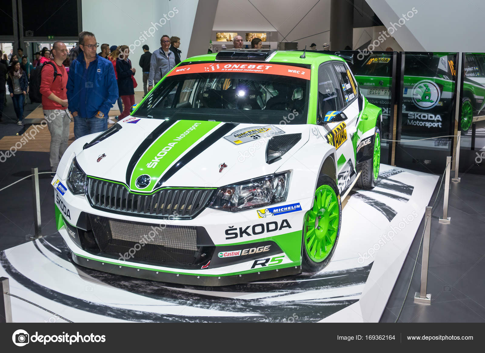 Pictures Skoda R5 Skoda Fabia R5 Rally Car Stock Editorial Photo C Eans 169362164