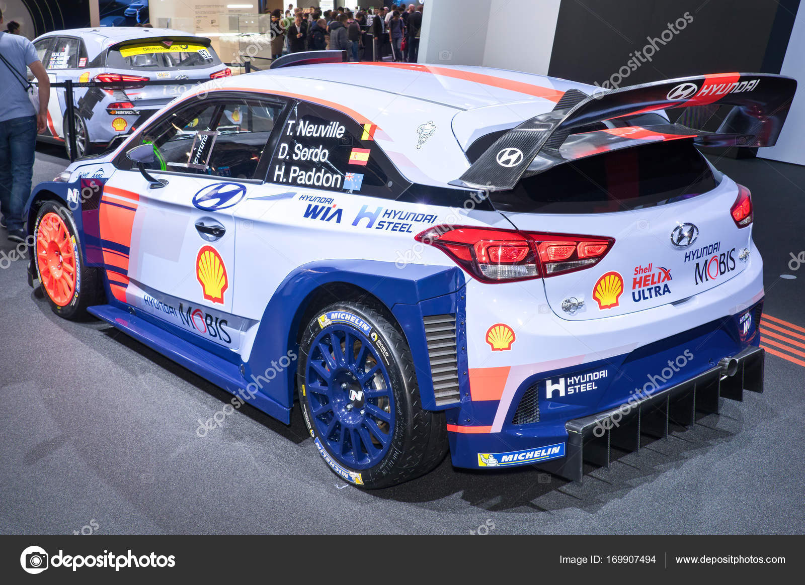 hyundai i30 n rally auto redactionele stockfoto eans. Black Bedroom Furniture Sets. Home Design Ideas