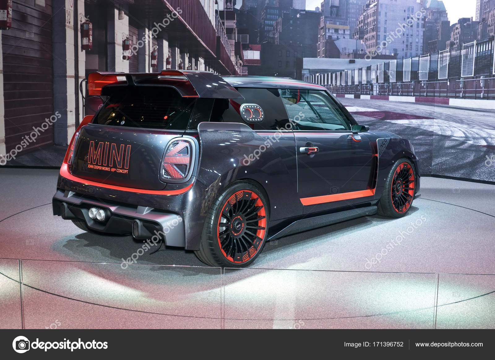 Mini John Cooper Works Gp Concept Stock Editorial Photo Eans