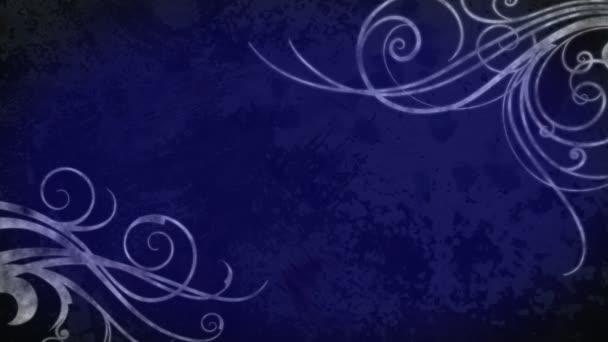 Virágozni, Grunge, háttér - kék