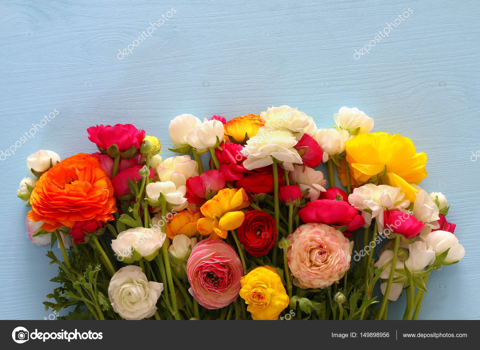 Top view of beautiful flowers arrangement stock photo tomert top view of beautiful flowers arrangement stock photo izmirmasajfo