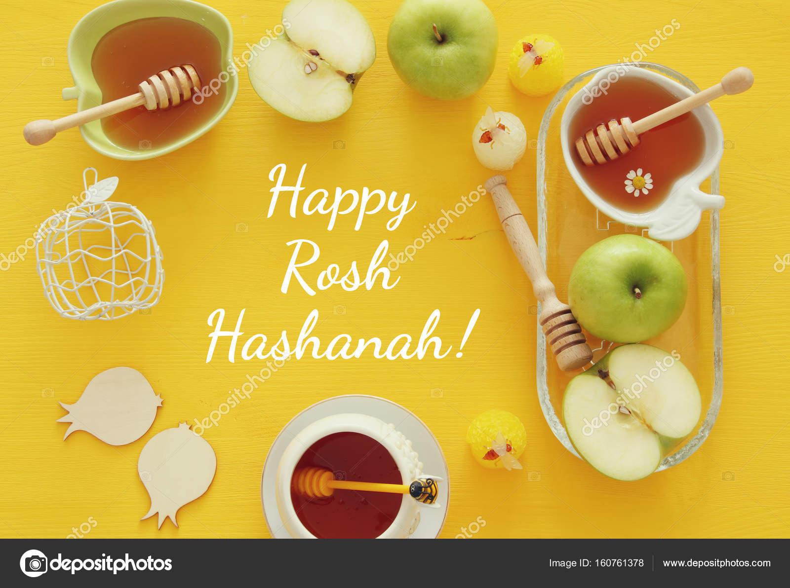 Rosh hashanah jewish new year holiday concept traditional rosh hashanah jewish new year holiday concept traditional symbols stock photo biocorpaavc